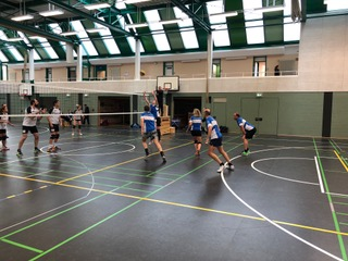 6. Spieltag der Volleyball Mixed