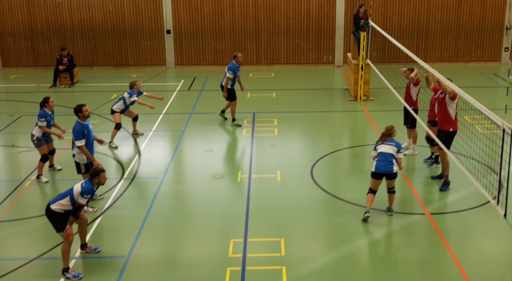Saisonauftakt 2018/19 bei den Mixed Volleyballern